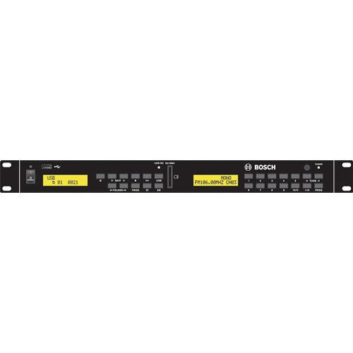 Bosch PLE-SDT Plena Easy Line SD Tuner Background Music Source