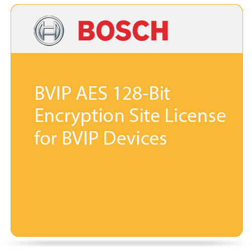 Bosch BVIP AES 128-Bit Encryption Site License for BVIP Devices