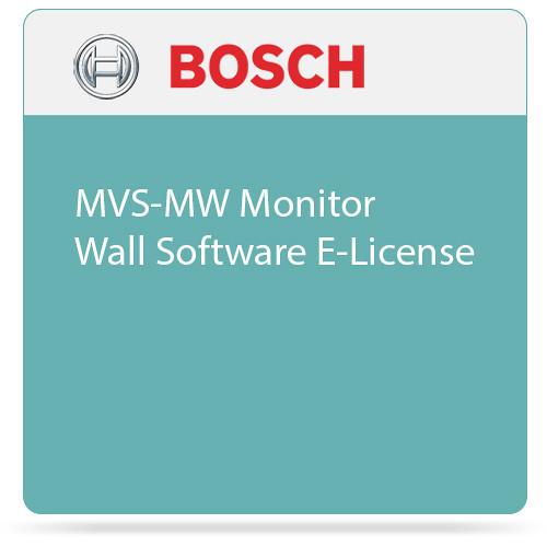 Bosch MVS-MW Monitor Wall Software E-License