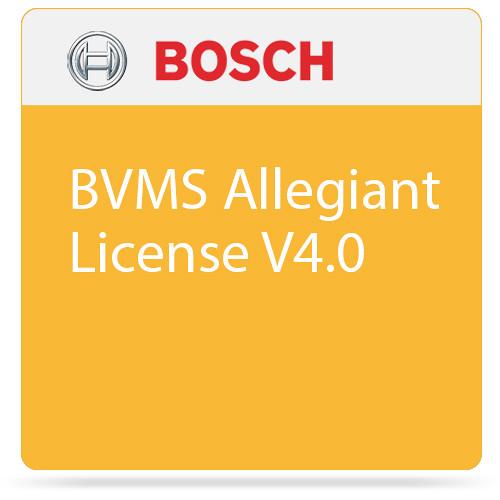 Bosch BVMS Allegiant License V4.0