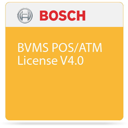 Bosch BVMS POS/ATM License V4.0