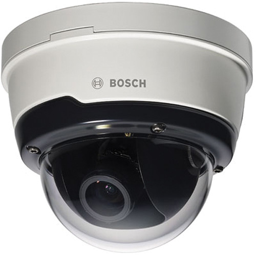 Bosch NDN-50051-V3 FLEXIDOME IP Outdoor 5000 5MP Day/Night Vandal-Resistant Dome Camera with 3-10mm Varifocal Lens