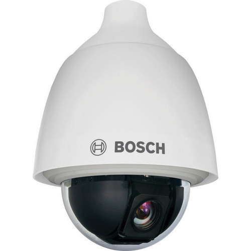 Bosch AUTODOME 5000 Series VEZ-523-EWCR Day/Night PTZ Outdoor Camera with Clear Rugged Bubble (NTSC, White)