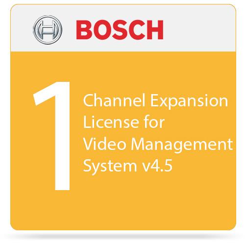Bosch 1-Channel Expansion License for Video Management System v4.5