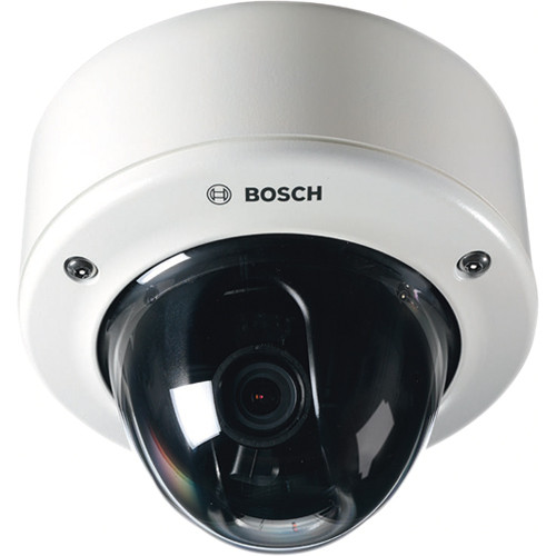Bosch Flexidome Starlight HD NIN-733-V10IPS 720p60 VR IVA Indoor / Outdoor IP Dome Camera with 10 to 23mm SR Lens
