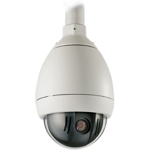 Bosch AutoDome 100 Series VG5-162-EC0 Analog Day/Night Outdoor Fixed Dome Camera with Pendant Mount (NTSC, White)