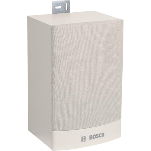 Bosch Unidirectional Cabinet Loudspeaker with Mounting Bracket (6W, White)
