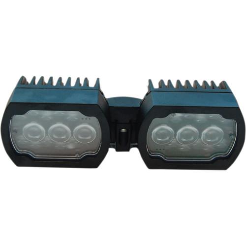 Bosch MIC-ILB-100 IR/White Light LED Illuminator for MIC7000 Series Starlight Camera (Black)