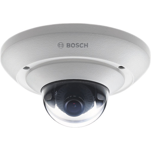Bosch FLEXIDOME IP micro 5000 HD NUC-51051-F2 5MP Vandal-Resistant Day/Night Outdoor Dome Camera with 2.5mm Fixed Lens
