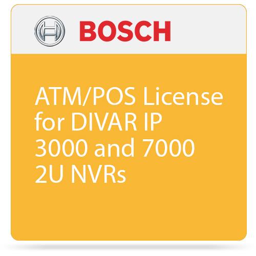 Bosch ATM/POS License for DIVAR IP 3000 and 7000 2U NVRs