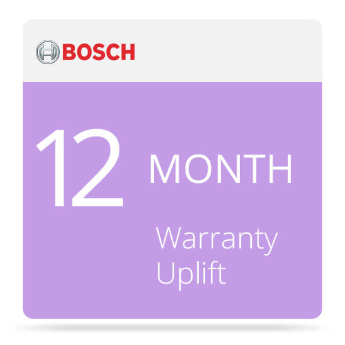 Bosch 12-Month Warranty Upgrade: Non-Returnable Disk Option for DSA E-Series DSX-N1D6XS-NRD Expansion Unit (12 x 3TB)