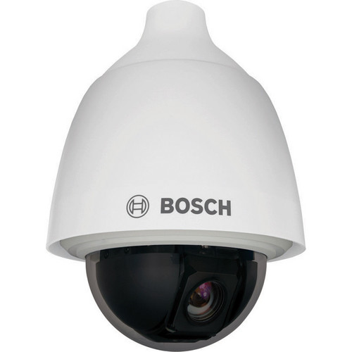 Bosch AUTODOME 5000 Series VEZ-523-EWCR Day/Night PTZ Outdoor Camera with Tinted Rugged Bubble (NTSC, White)