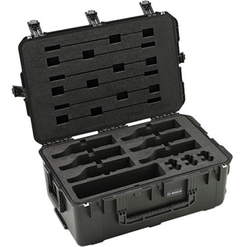 Bosch Flight Case For 6 Multimedia Devices (Does Not Fit Dicentis Or Dicentis Wireless Devices)