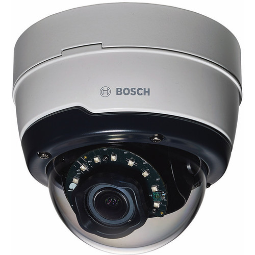 Bosch NDN-50051-A3 FLEXIDOME Outdoor 5000 5MP D/N H.264 Vandal-Resistant IP Dome Camera with 3-10mm F1.3 Lens