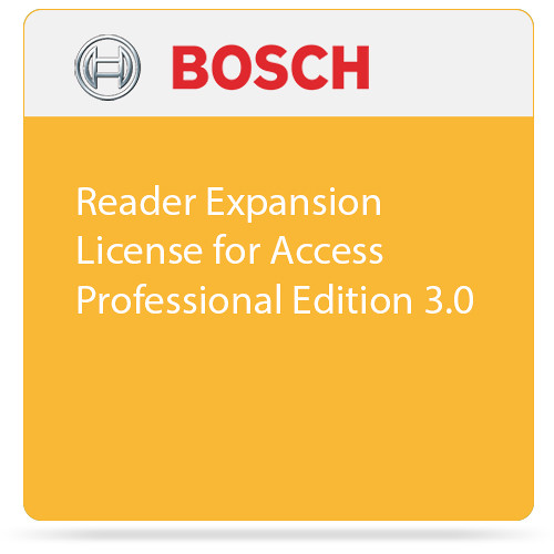 Bosch Reader Expansion License for Access Professional Edition 3.0