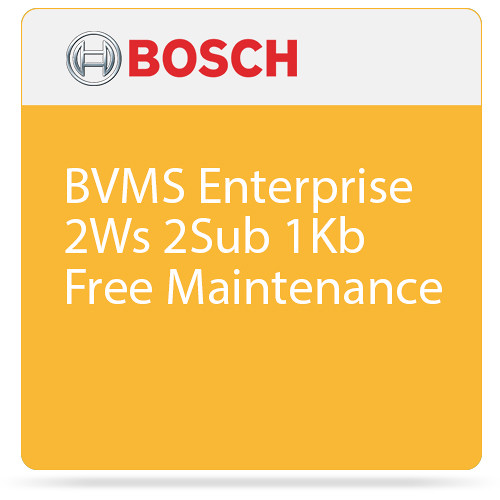 Bosch BVMS Enterprise System License with Free Maintenance