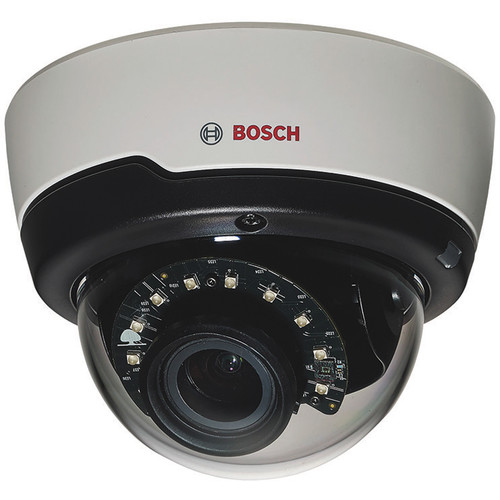 Bosch FLEXIDOME IP indoor 5000 HD IR PoE IP Dome Camera with Motorized 3 to 10mm Lens