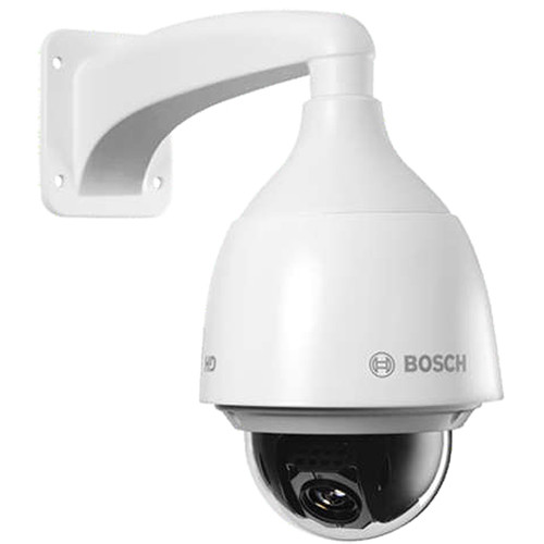Bosch NEZ-5130-EPCW4 AUTODOME IP 5000 HD 30x 1MP Camera with 4.3 to 129mm Varifocal Lens and Clear Bubble (White)