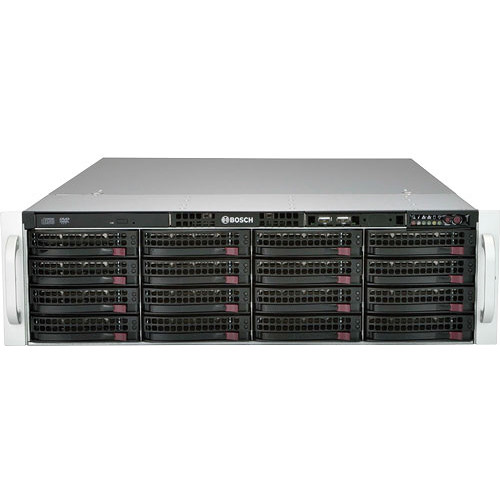 Bosch DIVAR IP 6000 Series 128-Channel NVR with 64TB HDD (3 RU)
