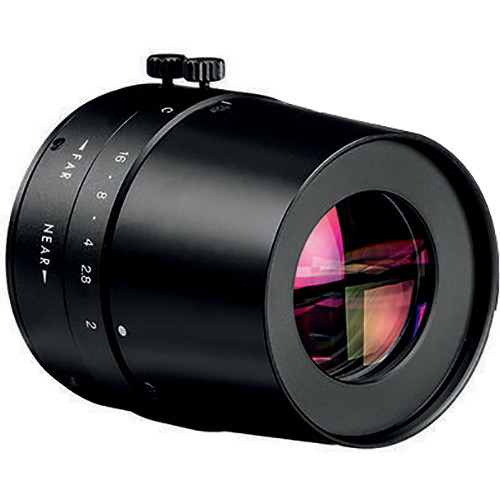 Bosch C-Mount 50mm f/2.0 IR Corrected Telephoto Lens with Manual Iris and Focus