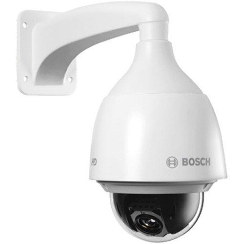 Bosch NEZ-5130-PPCW4 AUTODOME IP 5000 HD 30x 1MP Camera with 4.3 to 129mm Varifocal Lens and Clear Bubble (White)