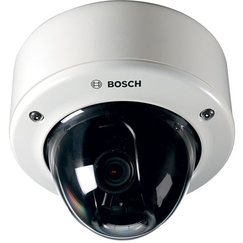 Bosch FLEXIDOME Starlight IP 6000 VR 720p Hybrid Surface Dome Camera with 3 to 9mm Varifocal Lens