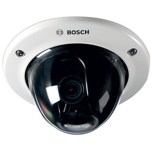 Bosch FLEXIDOME IP Starlight 7000 VR 720p Flush Mount Dome Camera with 10-23mm