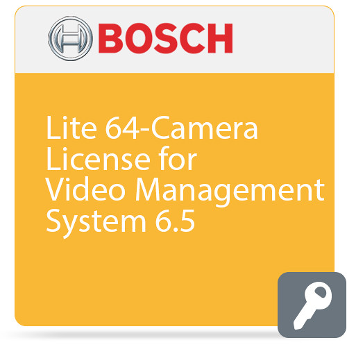 Bosch Lite 64-Camera License for Video Management System 6.5