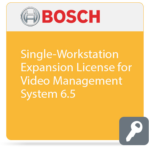Bosch Single-Workstation Expansion License for Video Management System 6.5