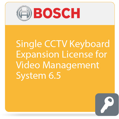 Bosch Single CCTV Keyboard Expansion License for Video Management System 6.5