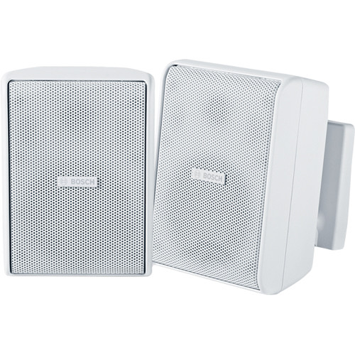 "Bosch LB20-PC40 4"" 8Ohm Cabint Speakers (Pair, White)"