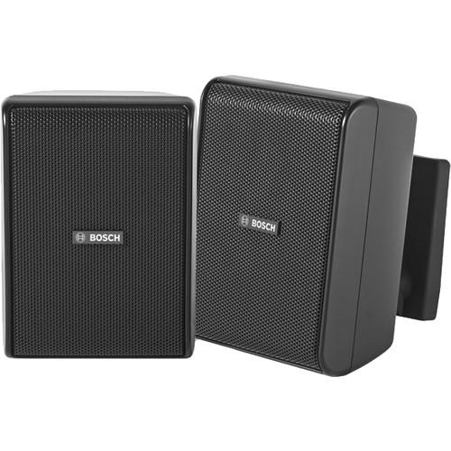 "Bosch LB20-PC15 4"" 70/100V Cabinet Speakers (Pair, Black)"