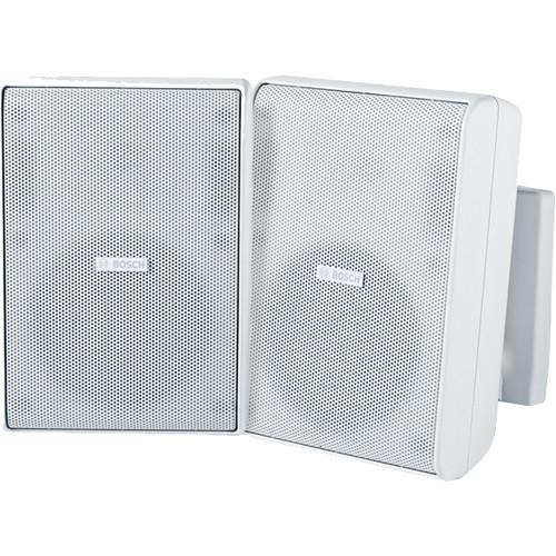 """Bosch LB20-PC30 5"""" 70/100V Cabinet Speakers (Pair, White)"""