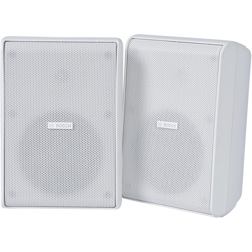"""Bosch PC60 5"""" Extreme Weather 70/100V Speakers (Pair, White)"""