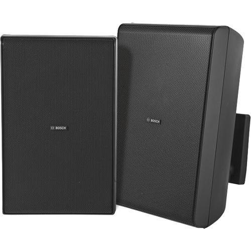 "Bosch LB20-PC60 8"" 70/100V Cabinet Speakers (Pair, Black)"