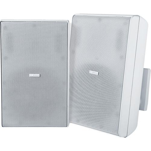 """Bosch LB20-PC60 8"""" 70/100V Cabinet Speakers (Pair, White)"""