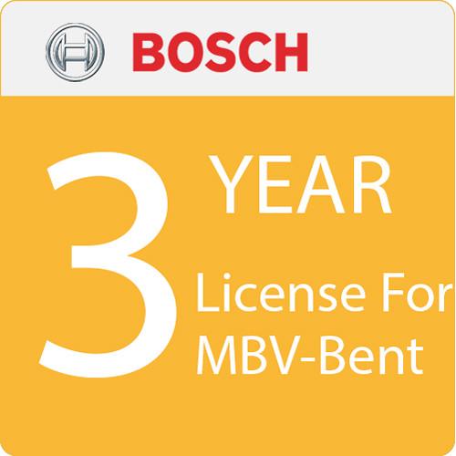 Bosch License For MBV-Bent - 3-Year