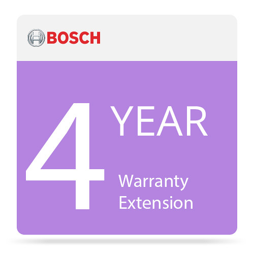 Bosch 4-Year NBD Repair Warranty Extension for MHW-S380RA-SC Standard Application Server