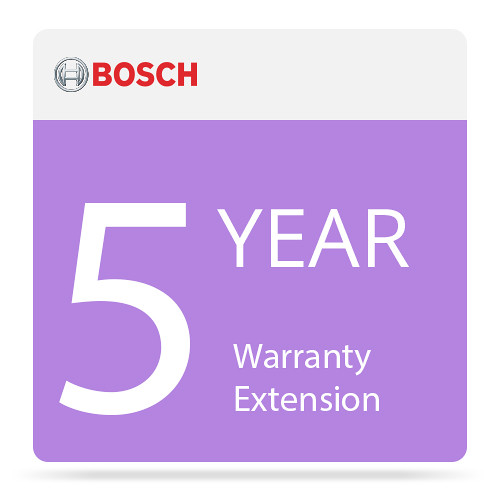 Bosch 5-Year NBD Repair Warranty Extension for MHW-S380RA-SC Standard Application Server