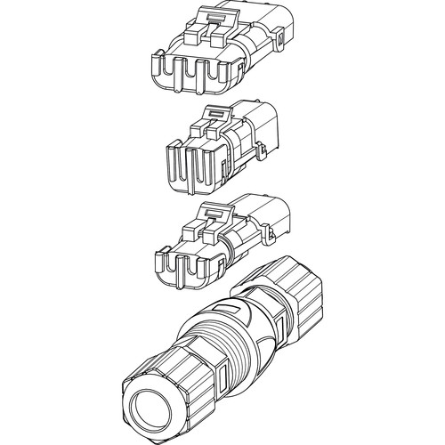bosch connector kit for thermal mic ptz  5