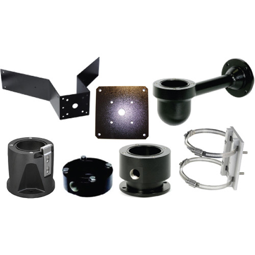 Bosch Hinged DCA Mount with Adapter for MIC IP Starlight 7000 HD Camera (Black)