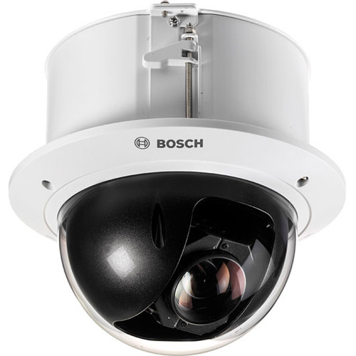 Bosch 2MP Indoor AUTODOME IP Starlight 5000i Ultra Low Light In-Ceiling PTZ Dome Camera (Clear)