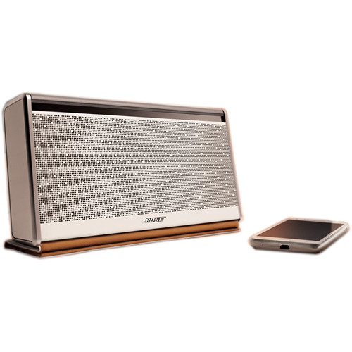 Bose SoundLink Bluetooth Mobile Speaker II (Limited Edition White Finish & White Leather Cover)