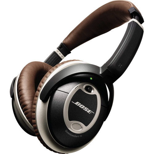 Bose Limited Edition QuietComfort 15 Acoustic Noise Cancelling Headphones (Slate/Brown)