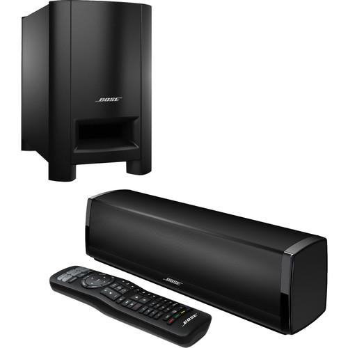 bose cinemate 15 home theater speaker system black 626596 1100. Black Bedroom Furniture Sets. Home Design Ideas