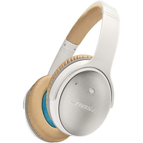 Bose QuietComfort 25 Acoustic Noise Cancelling Headphones (iOS, White)