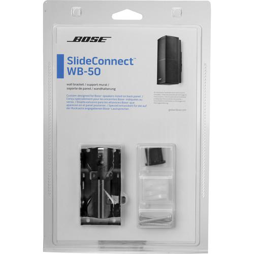 Bose SlideConnect WB-50 Wall Bracket (Black)