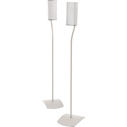 Bose UFS-20 Series II Universal Floorstands for Select Bose Systems (Pair, White)