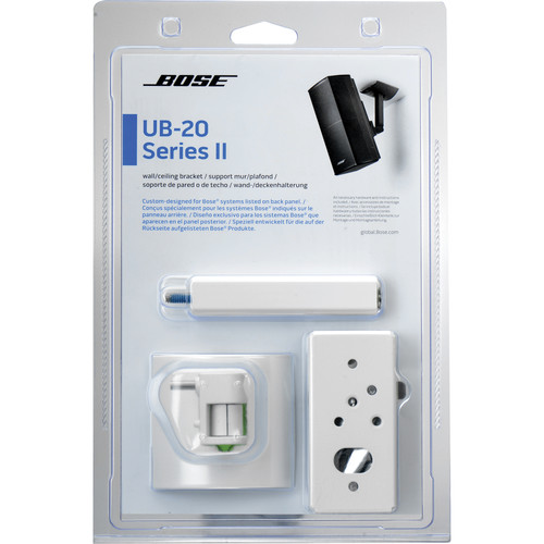 Bose UB-20 Series II Wall/Ceiling Bracket (White)