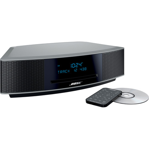 bose wave music system iv platinum silver 737251 1310 b h. Black Bedroom Furniture Sets. Home Design Ideas